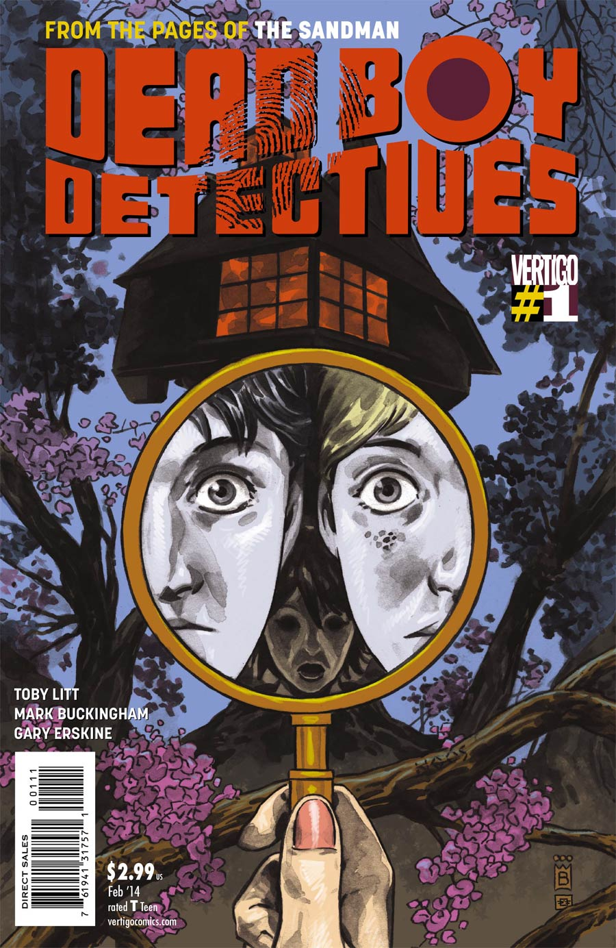 Dead Boy Detectives #1 Cover A Regular Mark Buckingham Cover