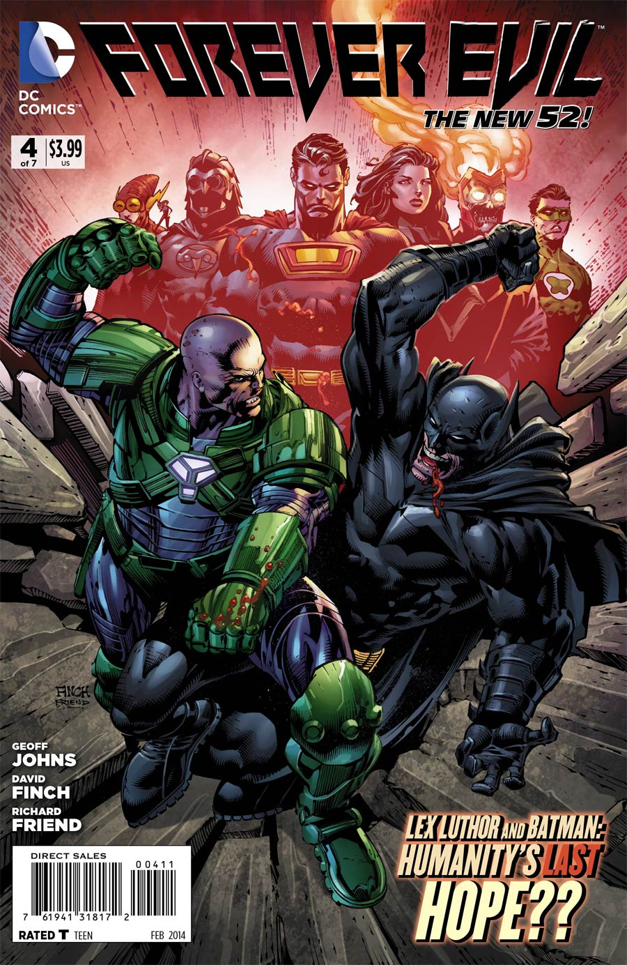 Forever Evil #4 Cover A Regular David Finch Cover