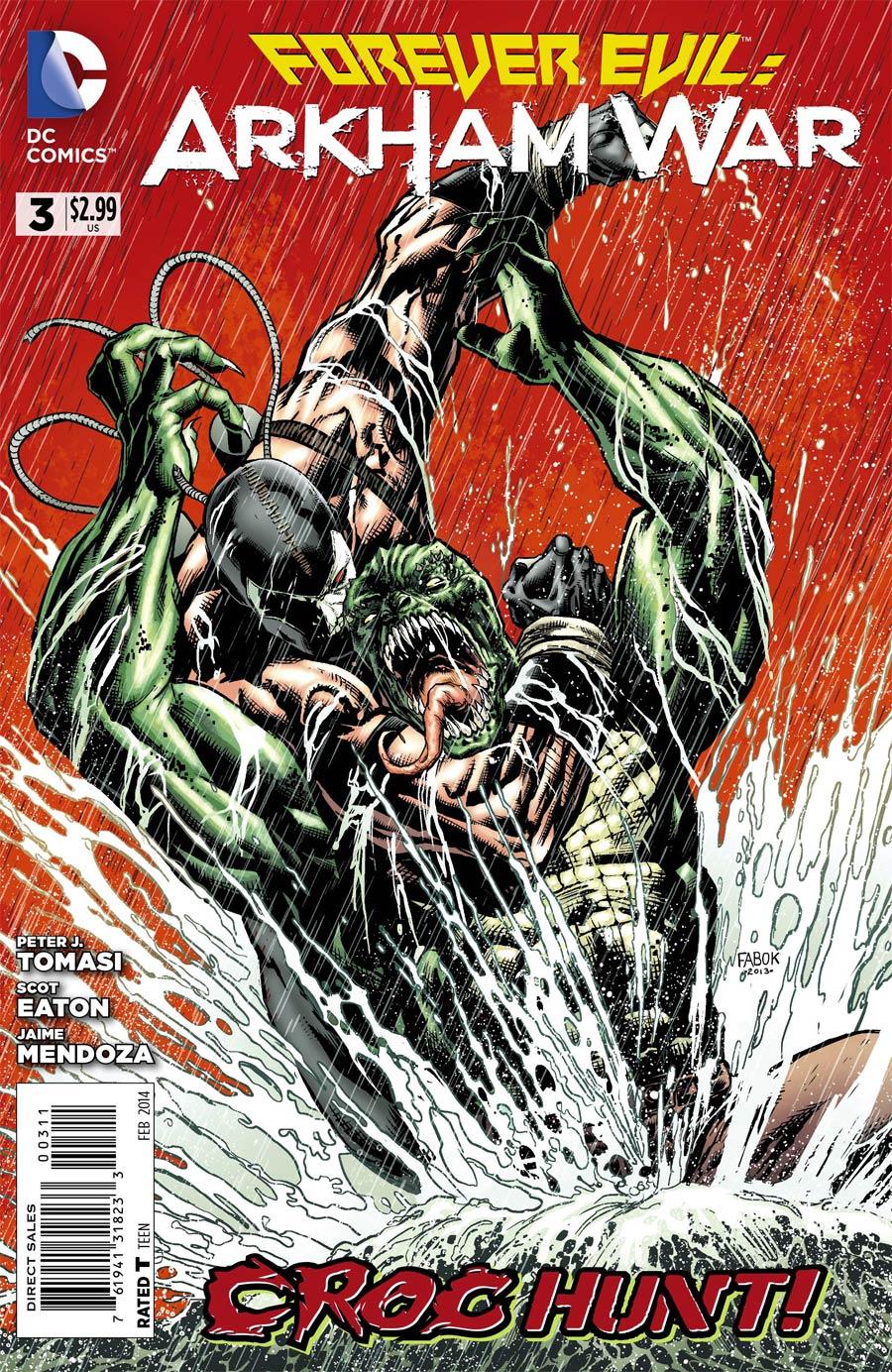 Forever Evil Arkham War #3 Cover A Regular Jason Fabok Cover