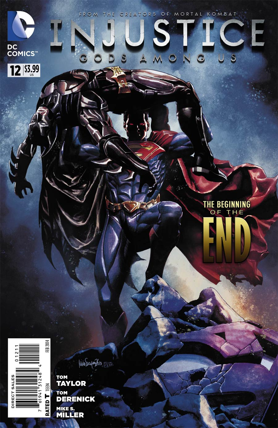 Injustice Gods Among Us #12 Cover A Regular Mico Suayan Cover