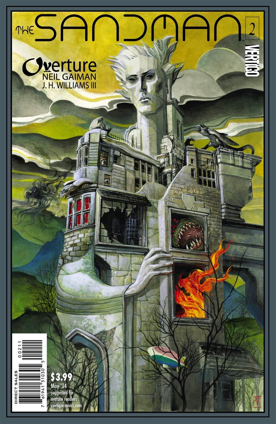 Sandman Overture #2 Cover A Regular JH Williams III Cover