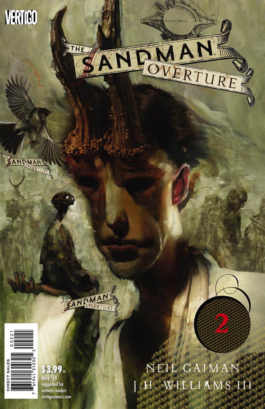 Sandman Overture #2 Cover B Regular Dave McKean Cover