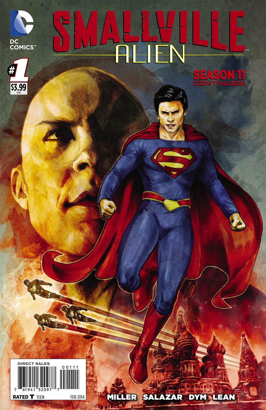 Smallville Season 11 Alien #1