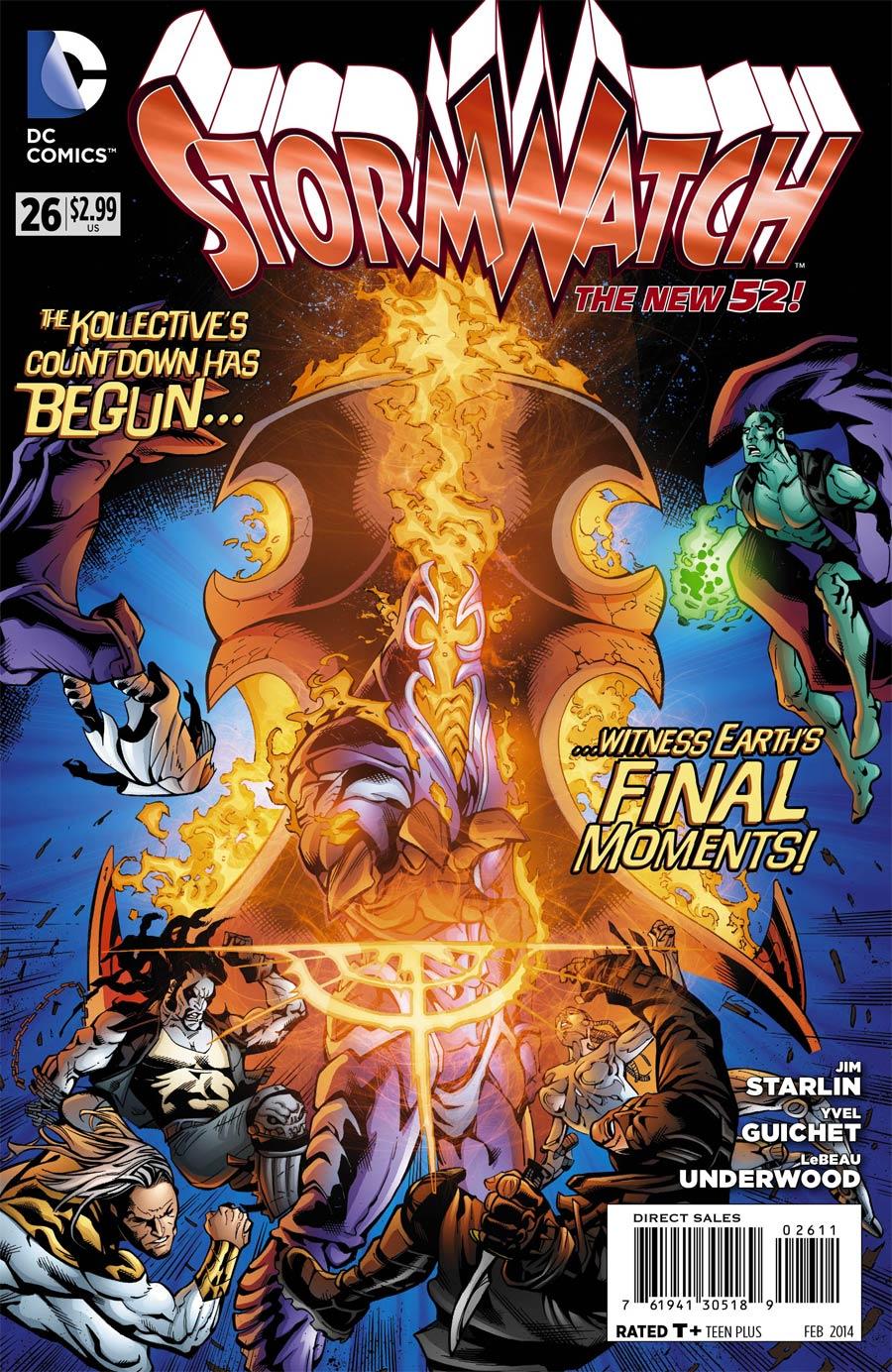 Stormwatch Vol 3 #26