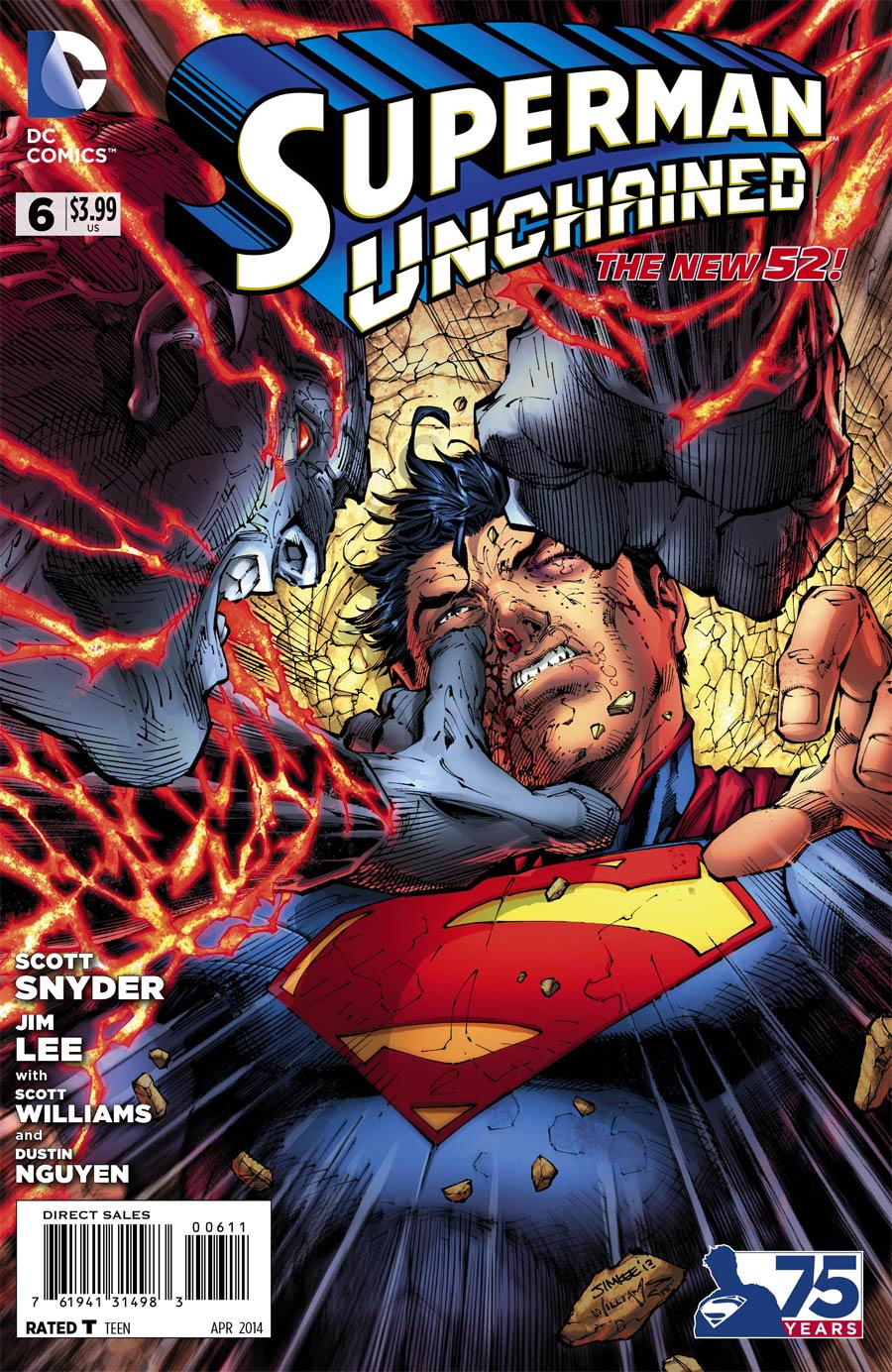 Superman Unchained #6 Cover A Regular Jim Lee Cover