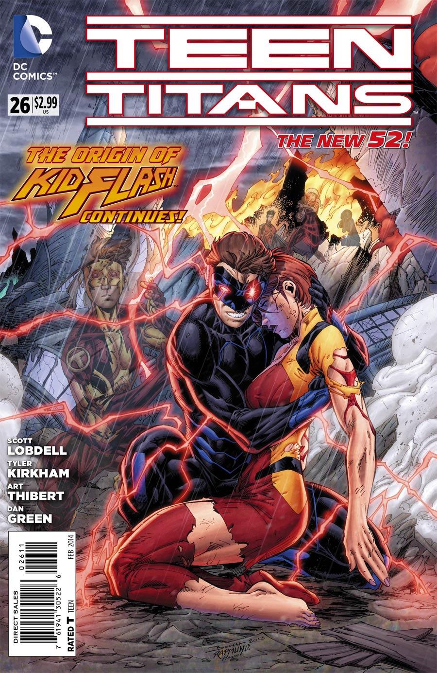 Teen Titans Vol 4 #26 Cover A Regular Brett Booth Cover (Forever Evil Tie-In)