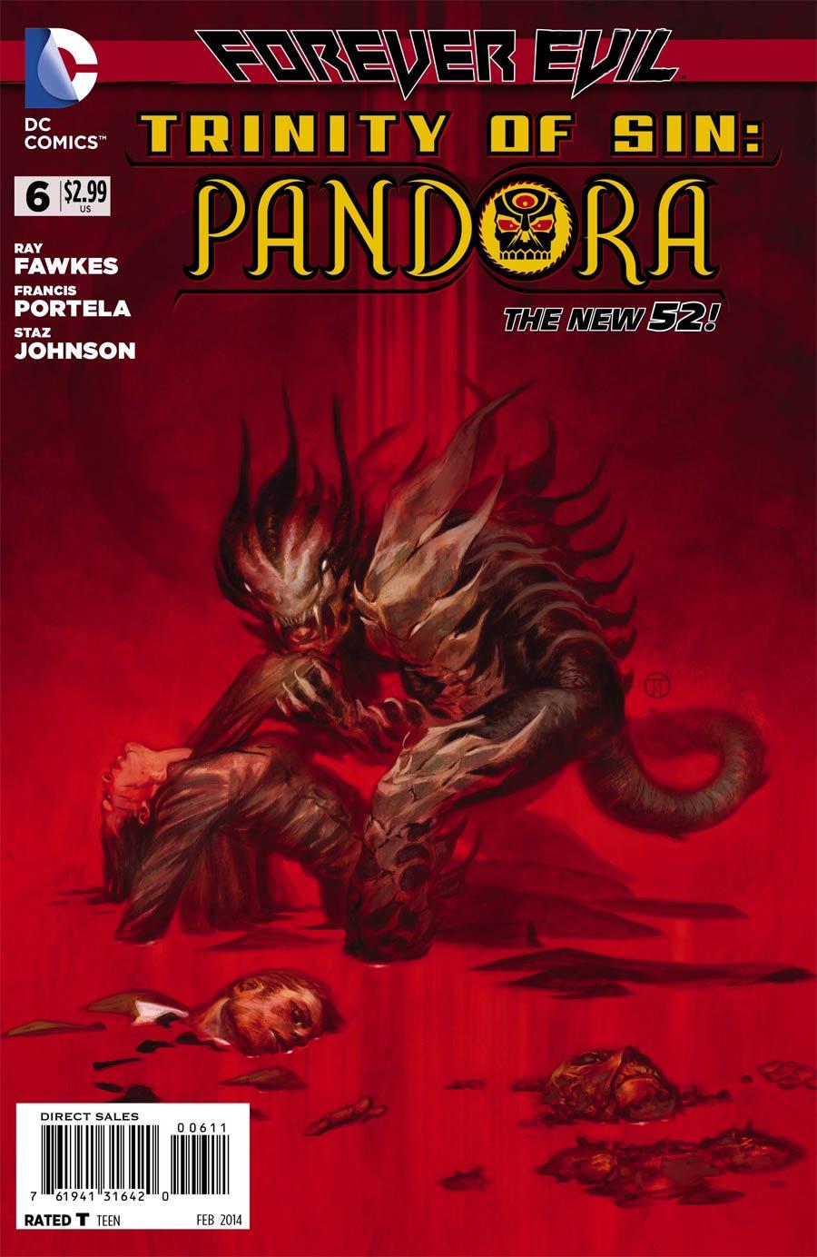 Trinity Of Sin Pandora #6 (Forever Evil Tie-In)