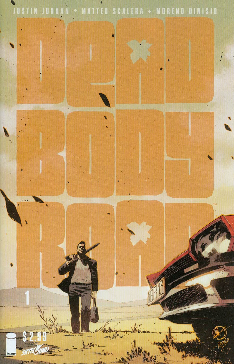 Dead Body Road #1 Cover A 1st Ptg