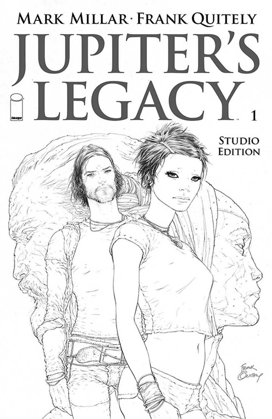 Jupiters Legacy #1 Cover K Studio Edition