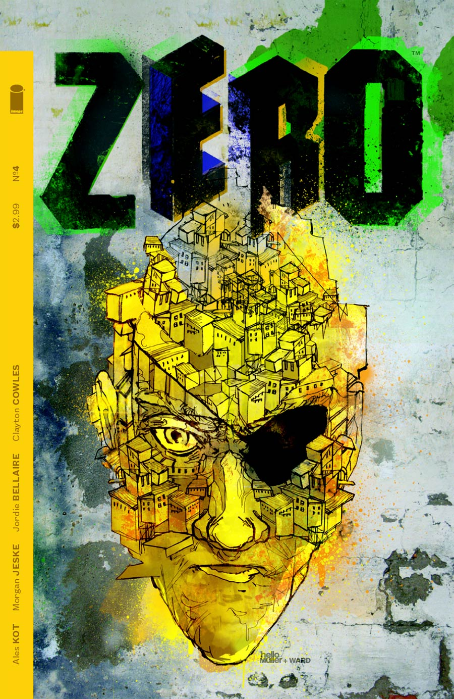 Zero #4 Cover B Christian Ward & Tom Muller