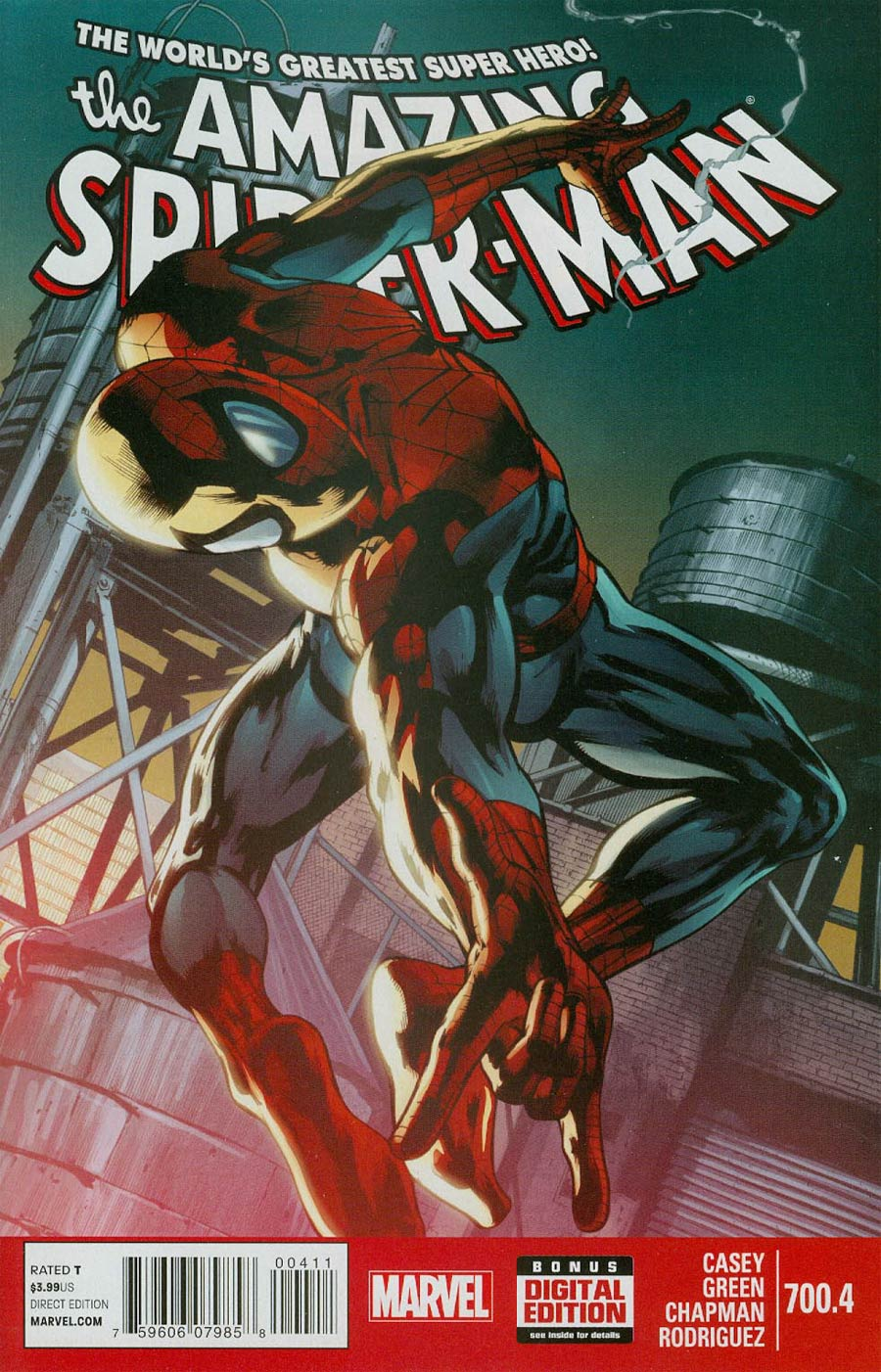 Amazing Spider-Man Vol 2 #700.4 Cover A Regular Pasqual Ferry Cover