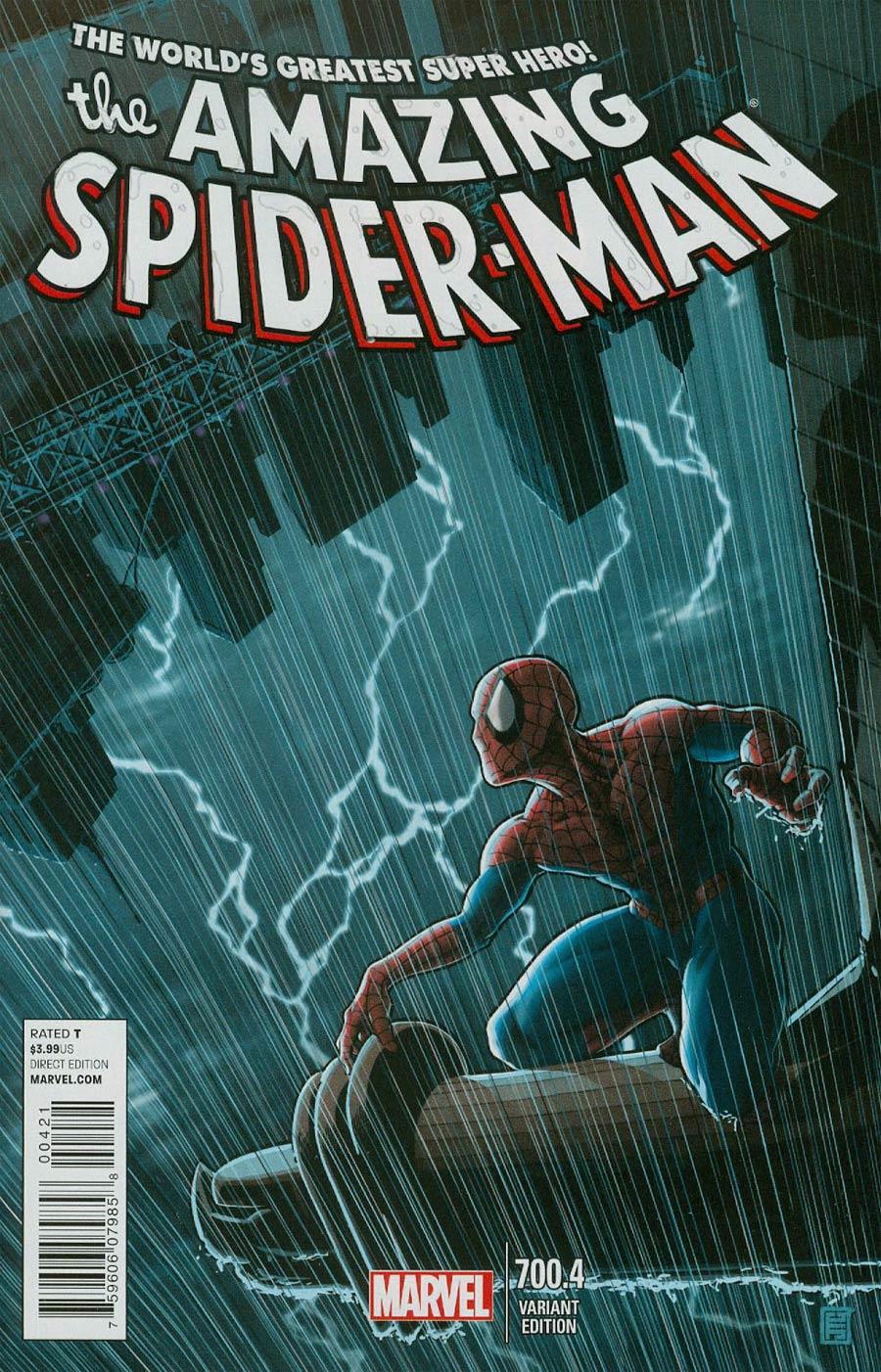 Amazing Spider-Man Vol 2 #700.4 Cover B Variant John Tyler Christopher Cover