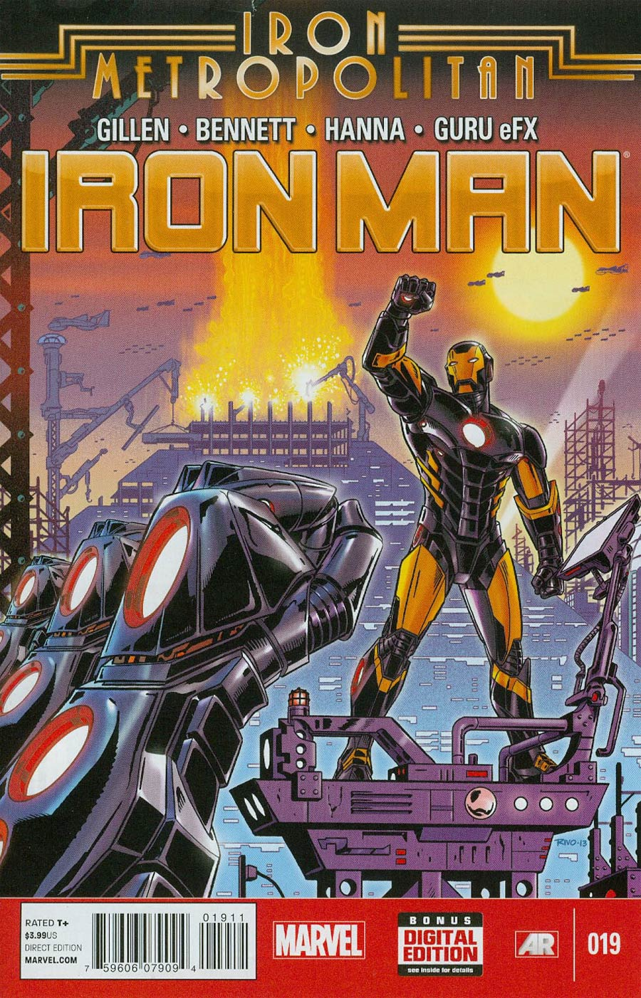 Iron Man Vol 5 #19