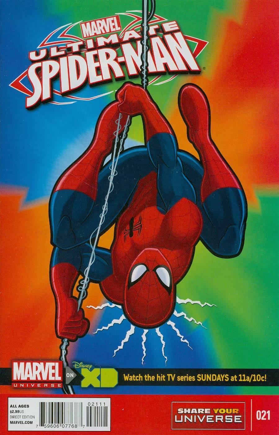 Marvel Universe Ultimate Spider-Man #21