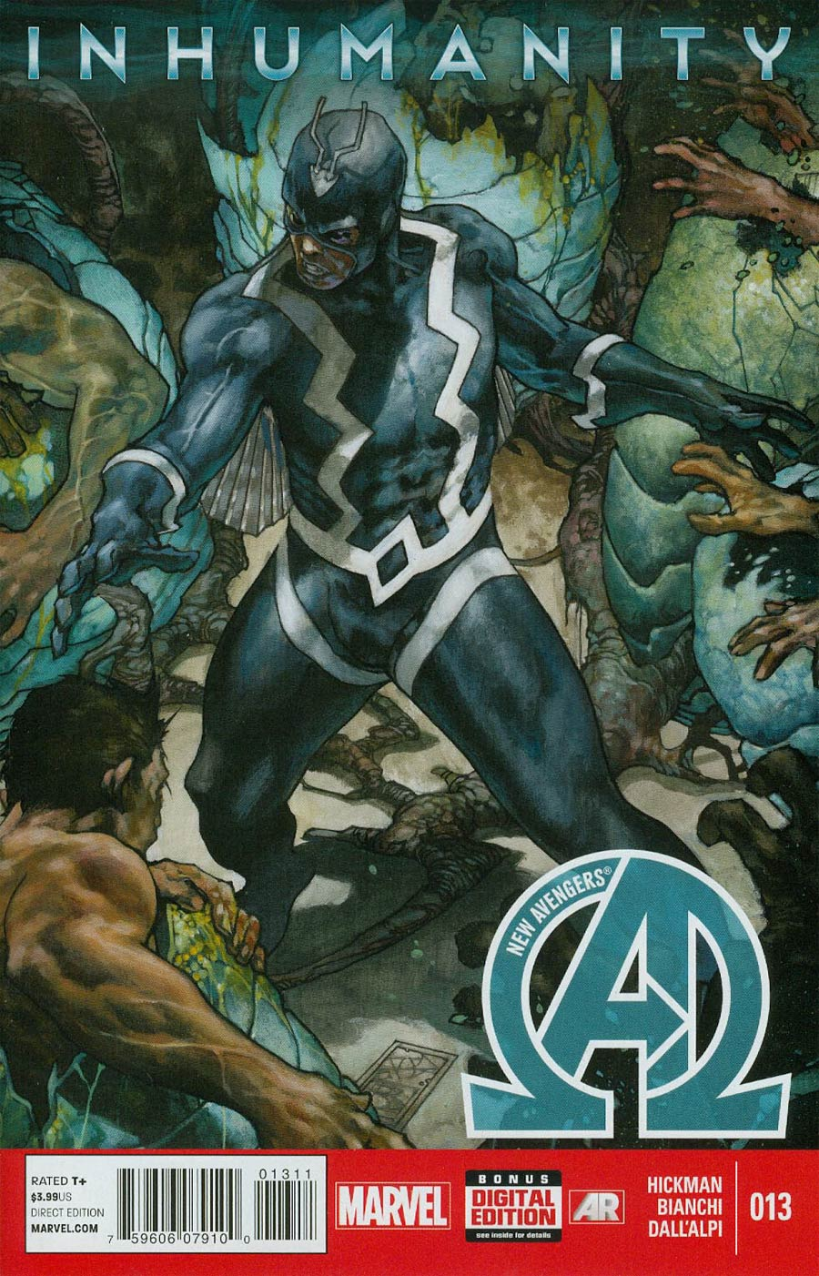 New Avengers Vol 3 #13 INH Cover A Regular Simone Bianchi Cover (Inhumanity Tie-In)