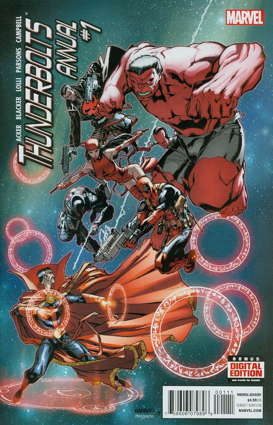 Thunderbolts Vol 2 Annual #1