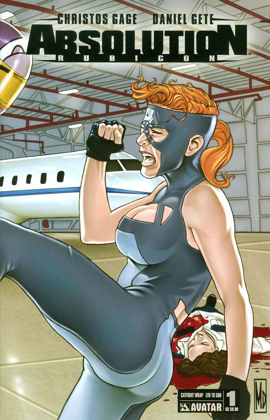 Absolution Rubicon #1 Cover F Catfight Wraparound Cover