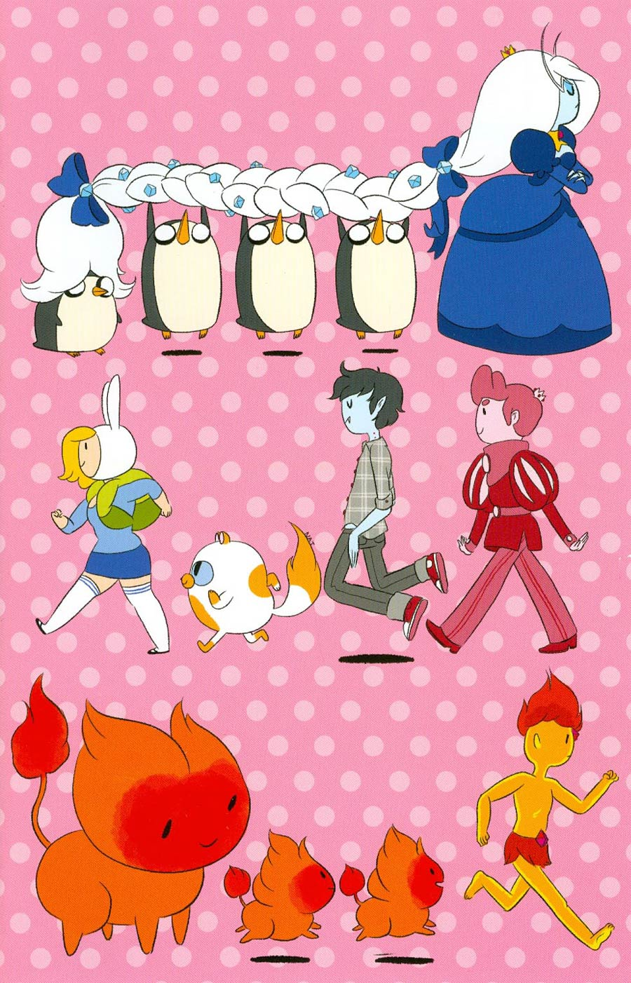 Adventure Time Fionna & Cake #1 Cover M SDCC Exclusive Variant Cover