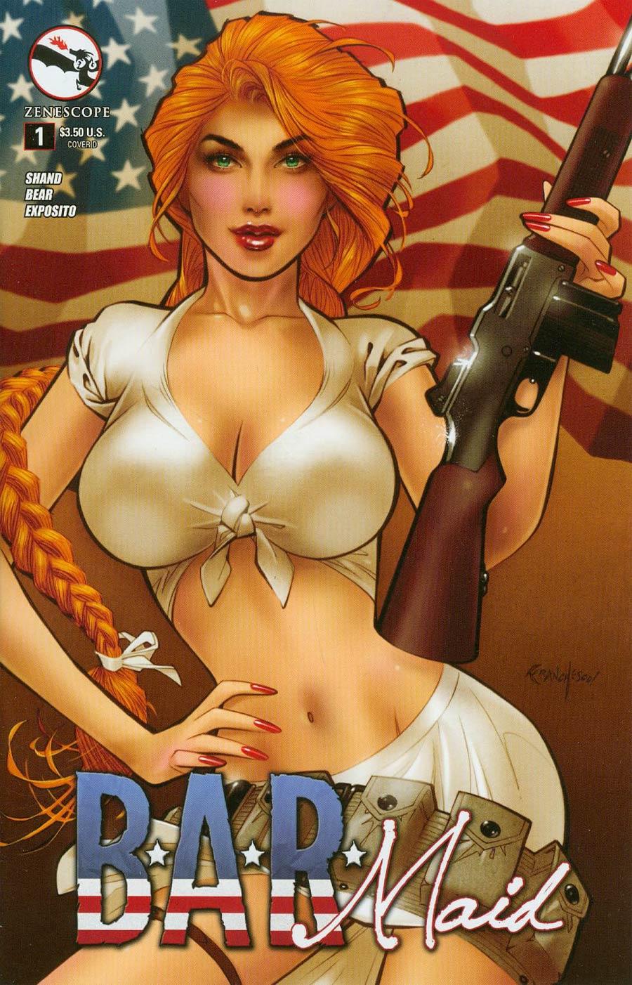 B.A.R. Maid #1 Cover D Franchesco