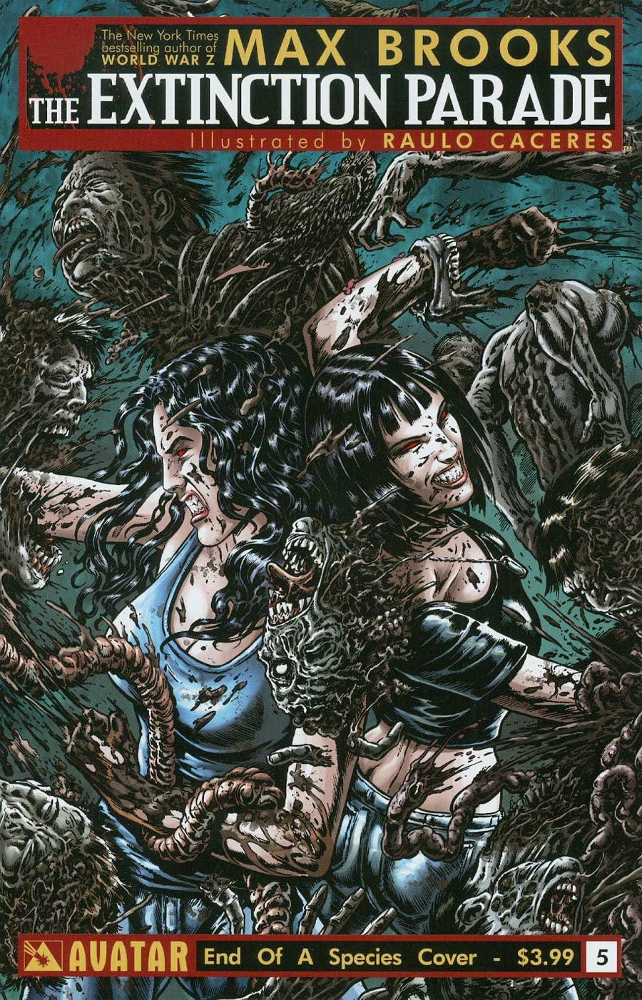 Extinction Parade #5 Cover C End Of A Species Cover