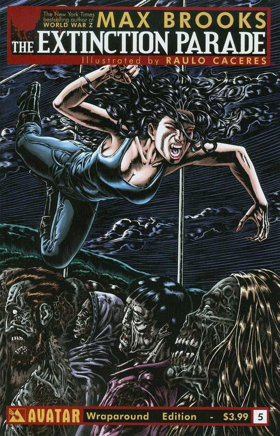 Extinction Parade #5 Cover B Wraparound Cover