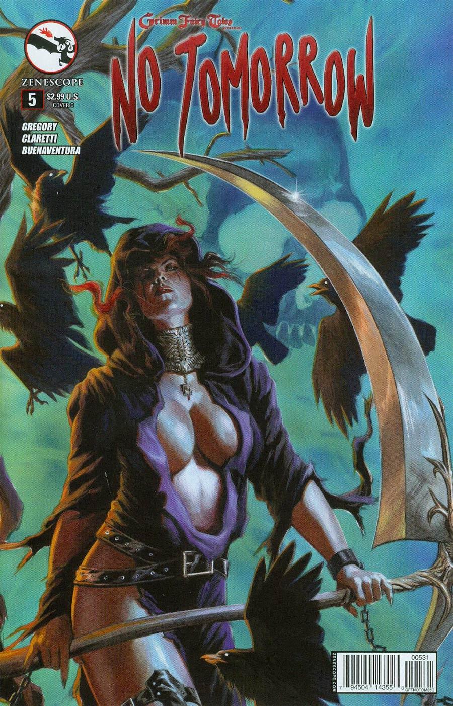 Grimm Fairy Tales Presents No Tomorrow #5 Cover C Felipe Massafera