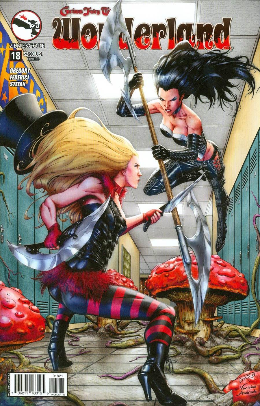 Grimm Fairy Tales Presents Wonderland Vol 2 #18 Cover B Eric J