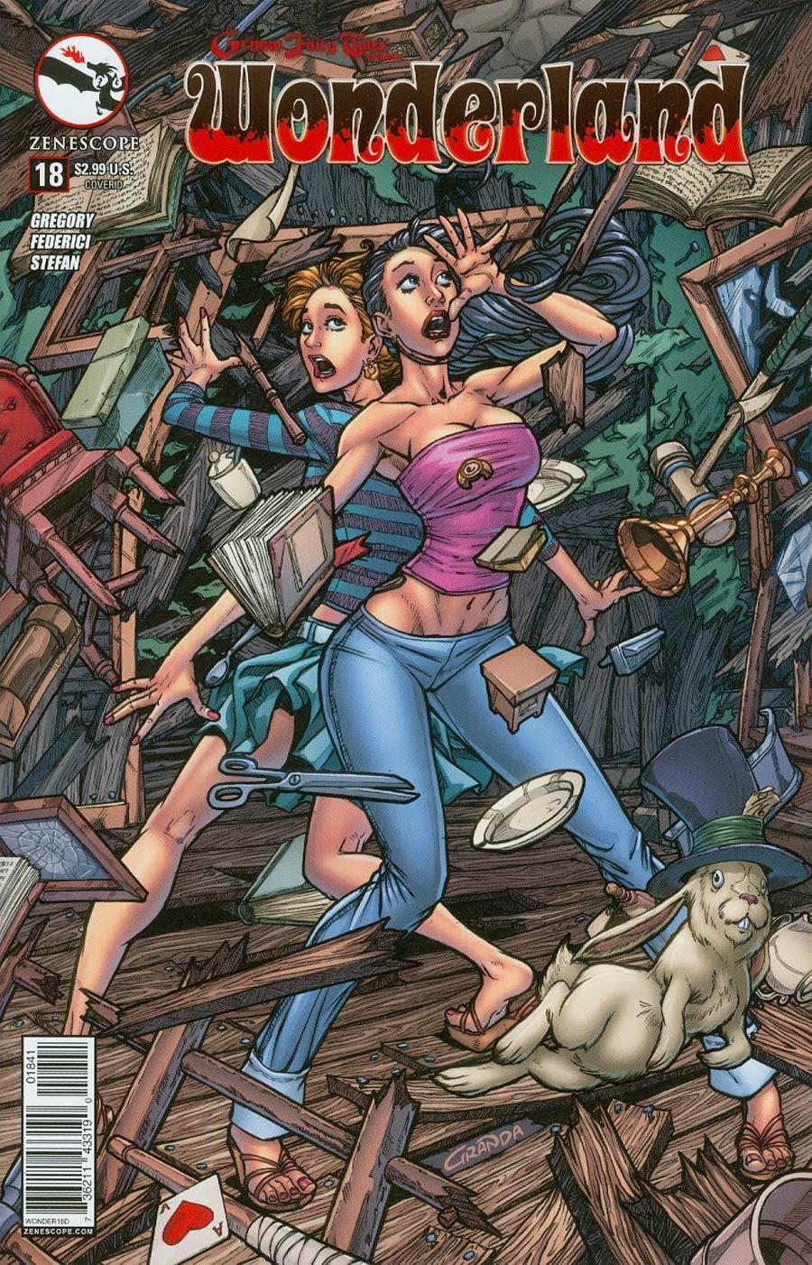 Grimm Fairy Tales Presents Wonderland Vol 2 #18 Cover D Carlos Granda