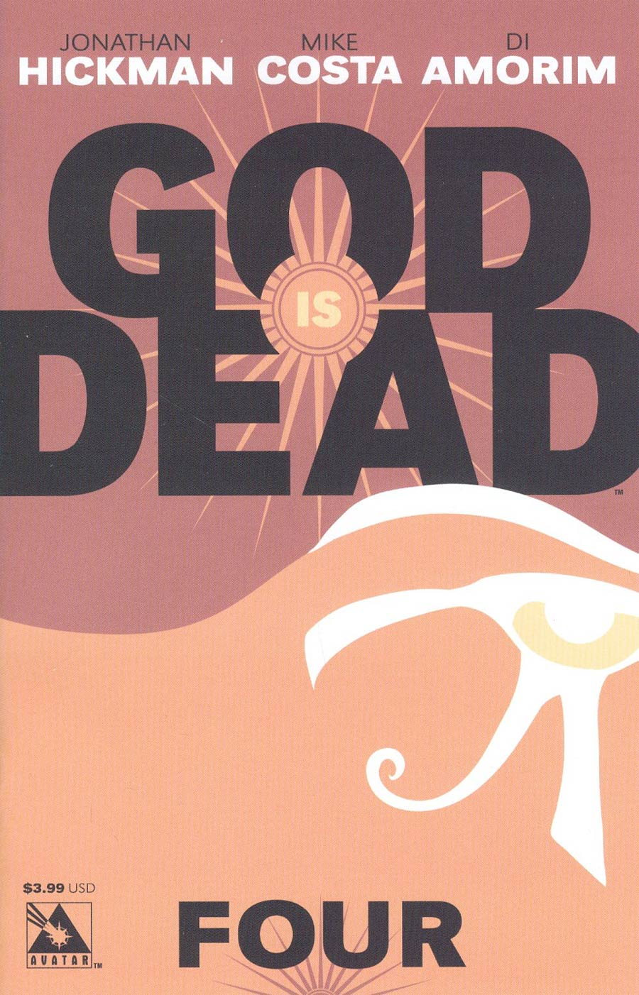 God Is Dead #4 Cover A Regular Cover