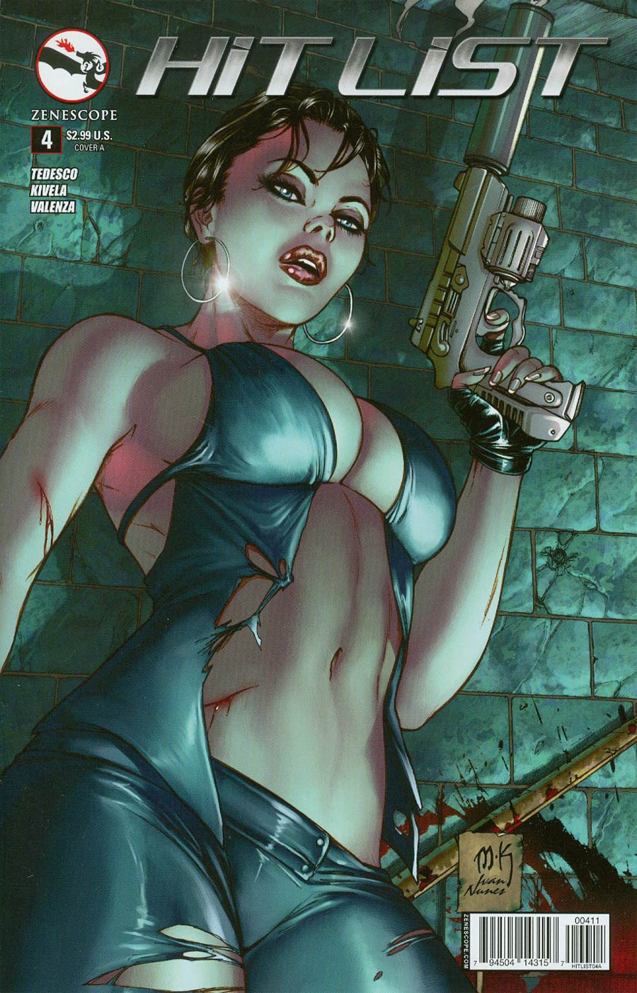 Hit List #4 Cover A Mike Krome