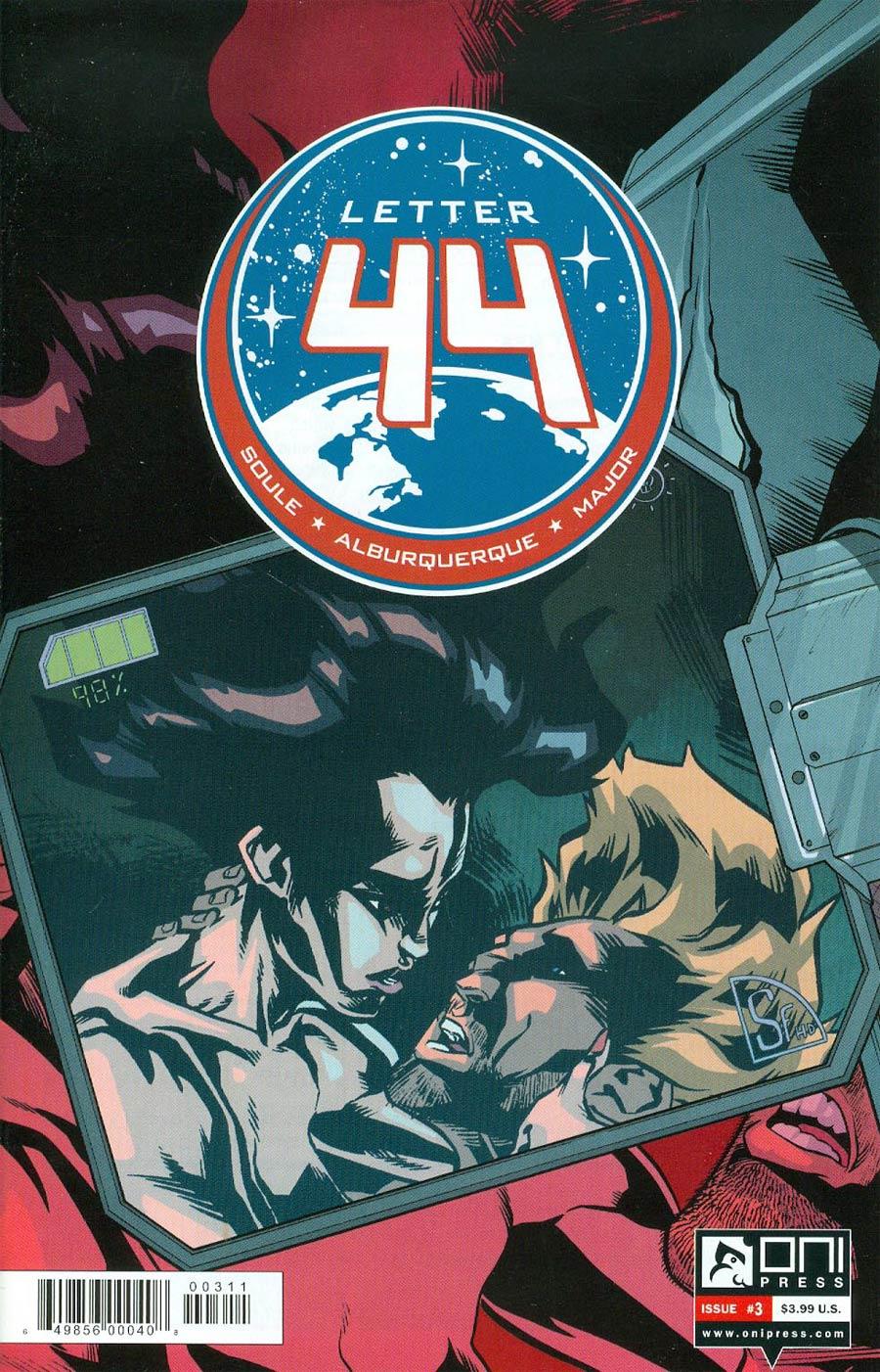 Letter 44 #3 Cover A Regular Alberto Alburquerque Cover