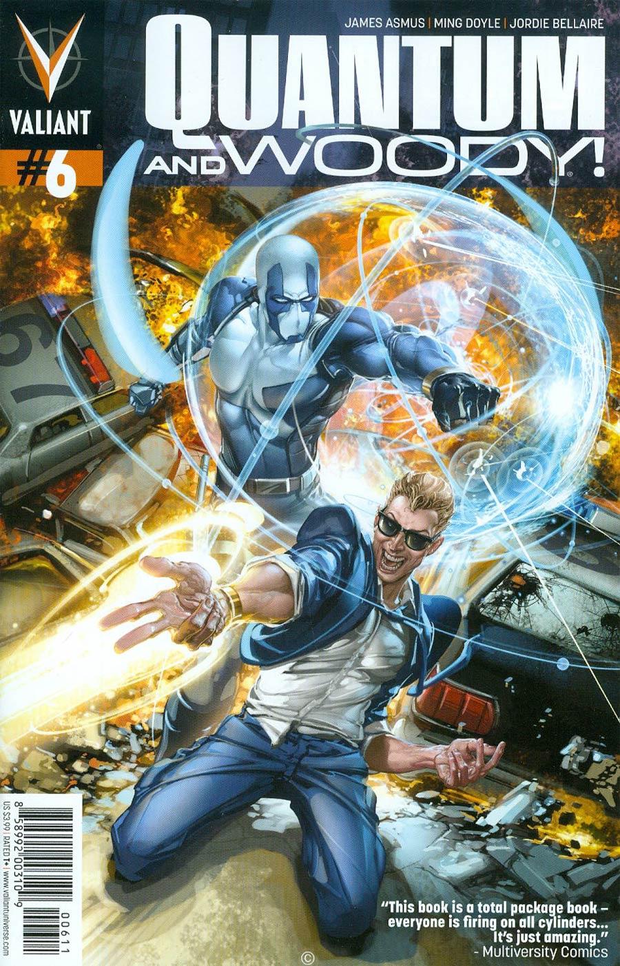 Quantum & Woody Vol 3 #6 Cover A Regular Clayton Crain Cover