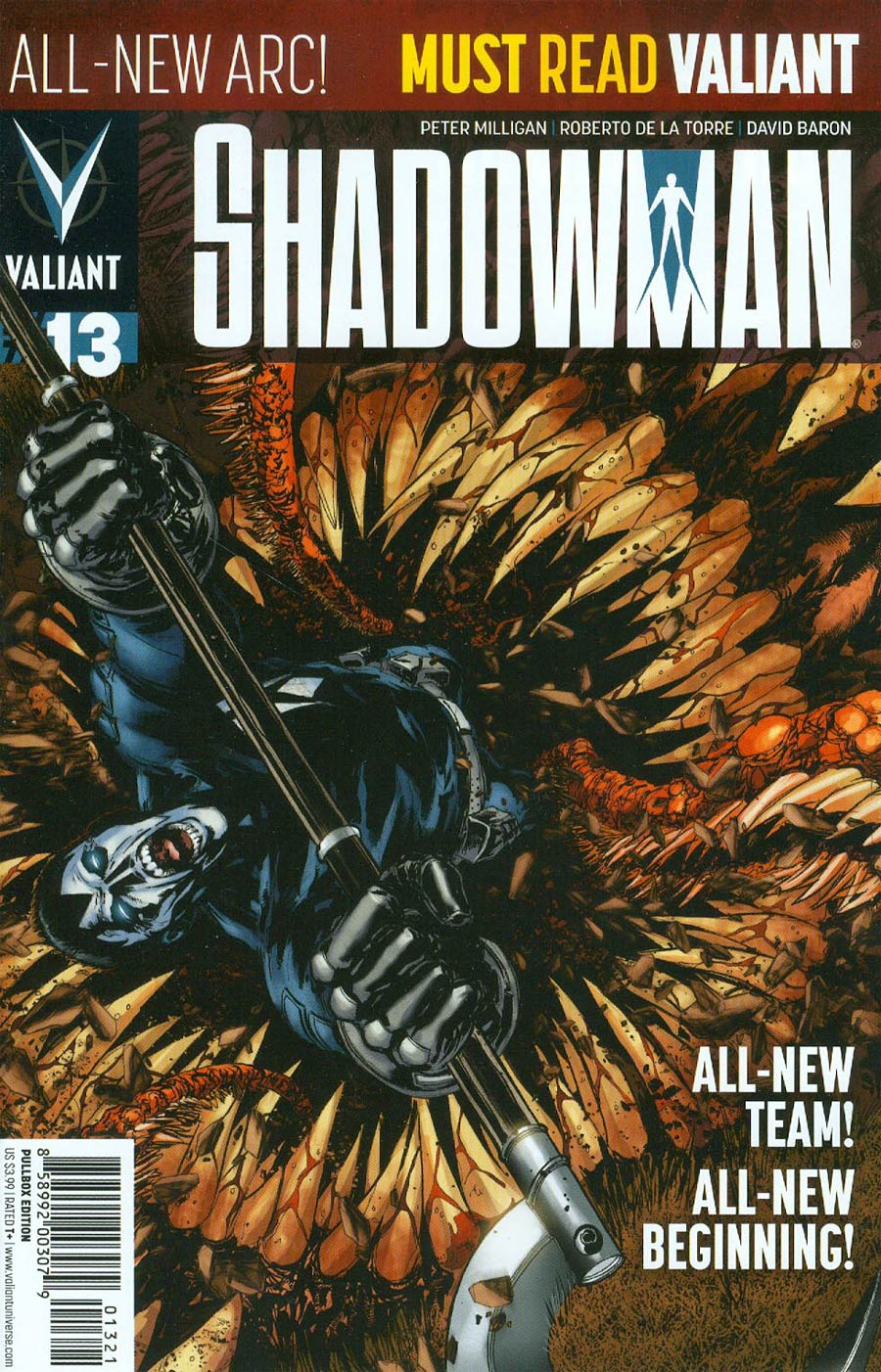 Shadowman Vol 4 #13 Cover B Variant Miguel Sepulveda Pullbox Cover