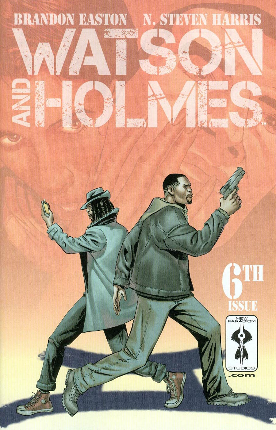 Watson And Holmes #6 Cover A Regular N Steven Harris Cover