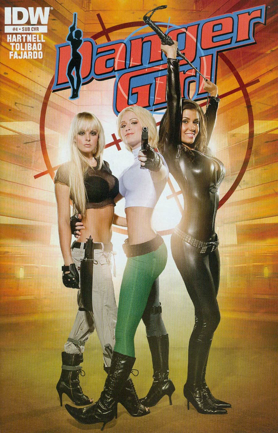 Danger Girl The Chase #4 Cover B Variant Cosplay Photo Subscription Cover