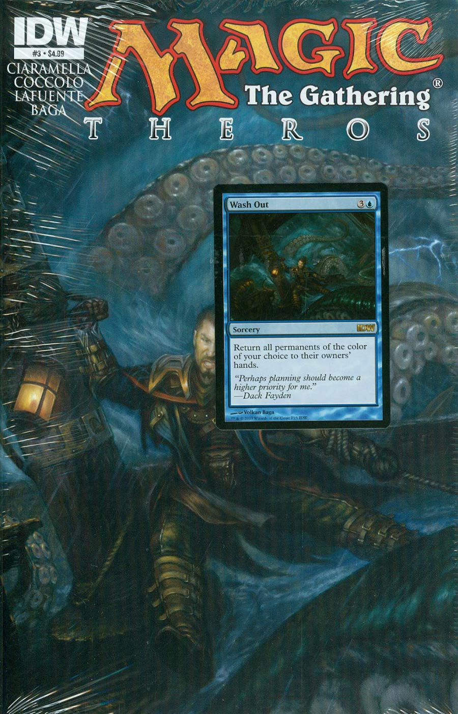 Magic The Gathering Theros #3 Cover A Regular Volkan Baga Cover