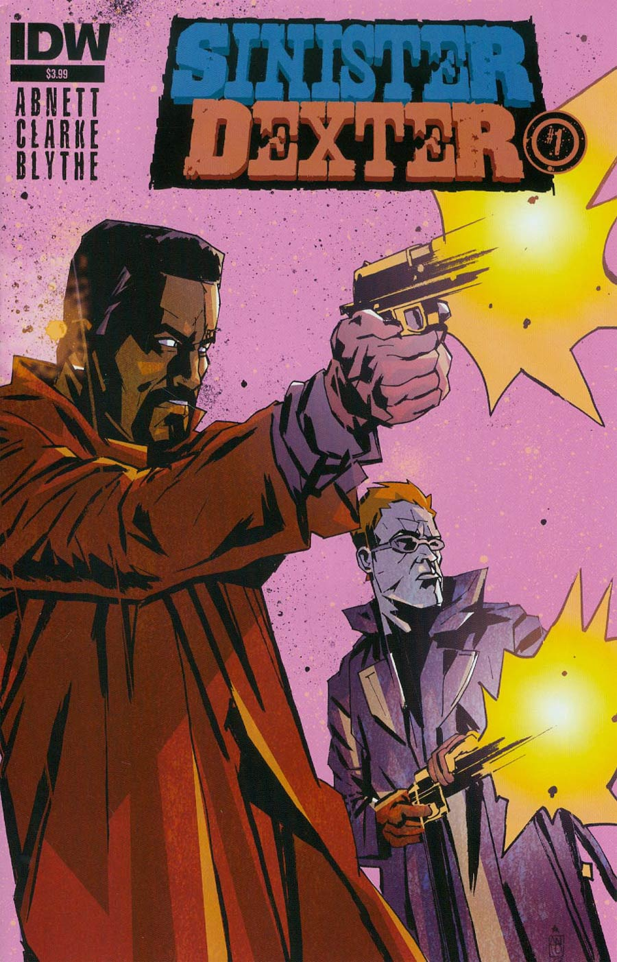 Sinister Dexter #1 Cover A Regular Antonio Fuso Cover
