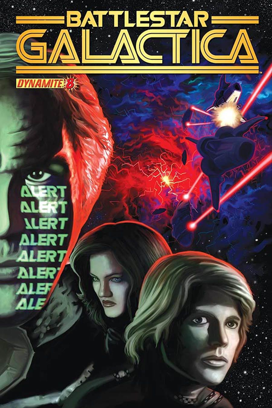 Battlestar Galactica Vol 5 #8 Cover A Regular Colton Worley Cover
