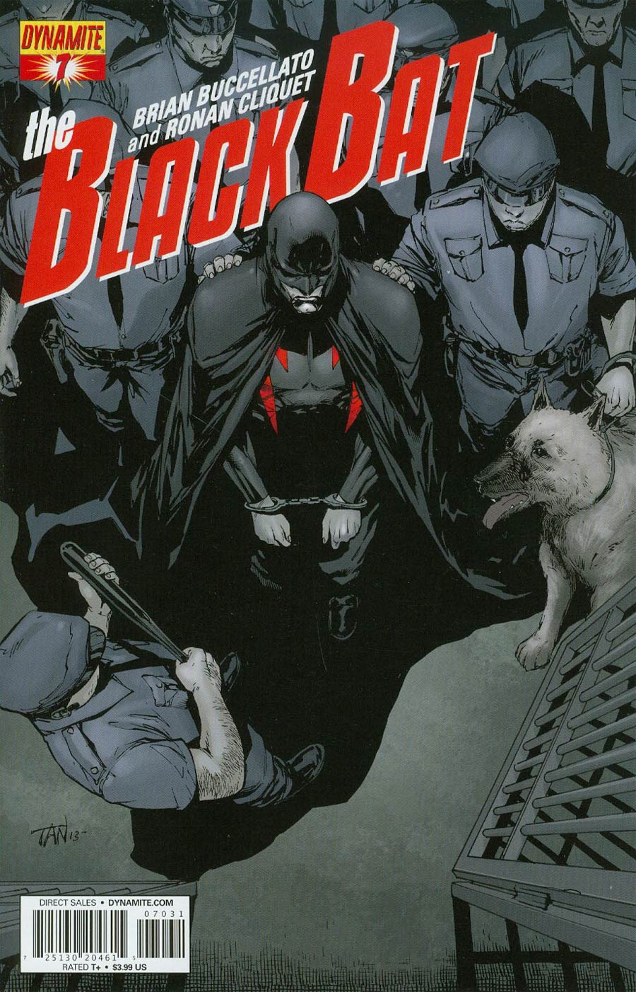 Black Bat #7 Cover B Variant Billy Tan Subscription Cover