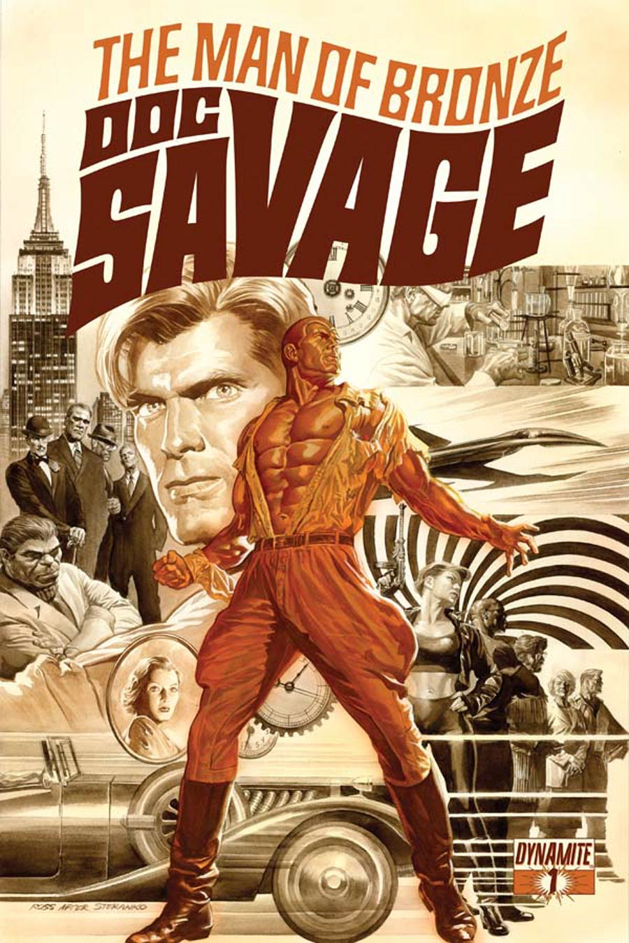 Doc Savage Vol 5 #1 Cover A Regular Alex Ross Cover