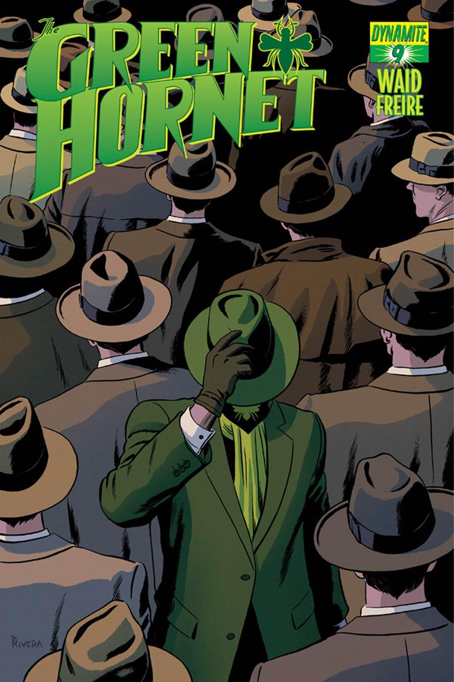 Mark Waids Green Hornet #9 Cover A Regular Paolo Rivera Cover