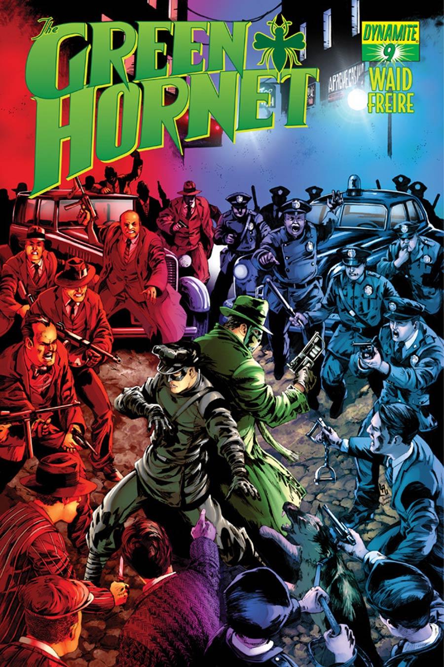Mark Waids Green Hornet #9 Cover B Variant Jonathan Lau Subscription Cover