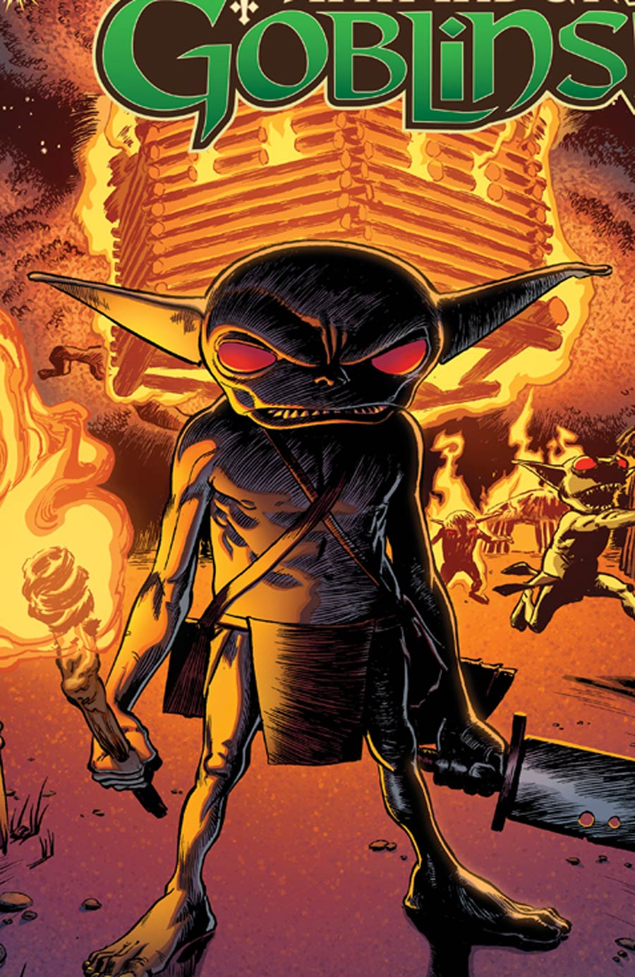 Pathfinder Goblins #5 Cover A Regular Adam Moore Cover