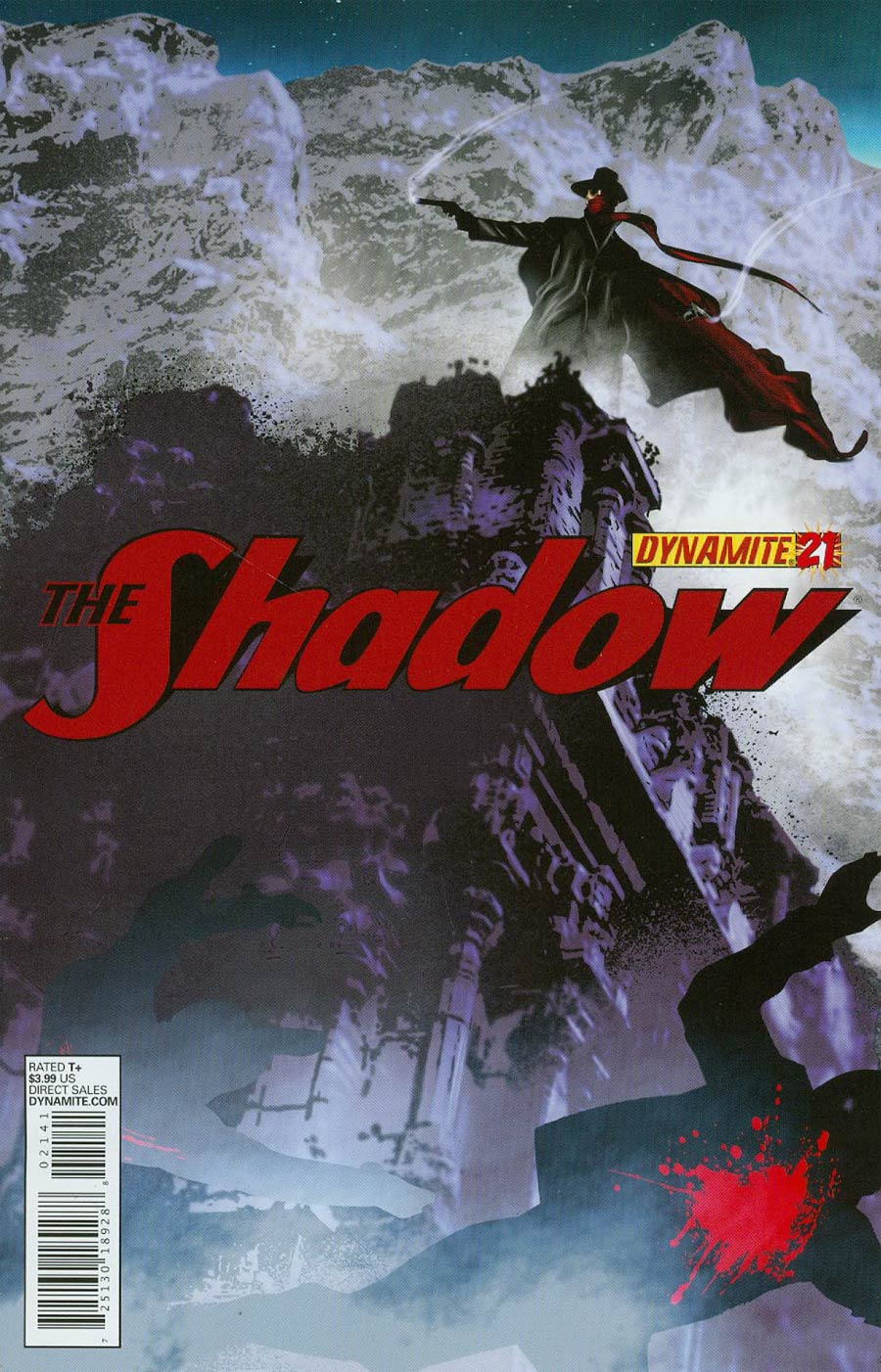 Shadow Vol 5 #21 Cover C Variant Dennis Calero Subscription Cover