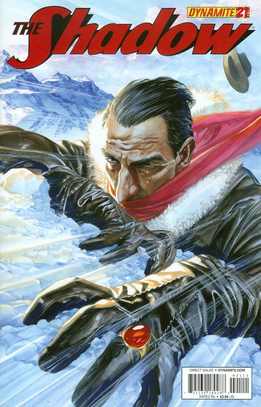 Shadow Vol 5 #21 Cover A Regular Alex Ross Cover