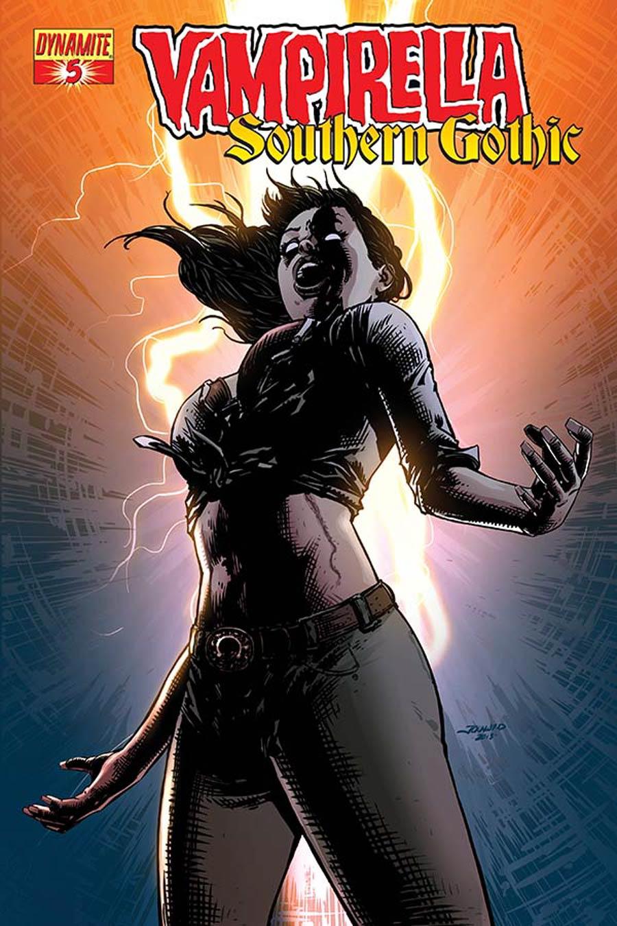 Vampirella Southern Gothic #5 Cover A Regular Johnny Desjardins Cover
