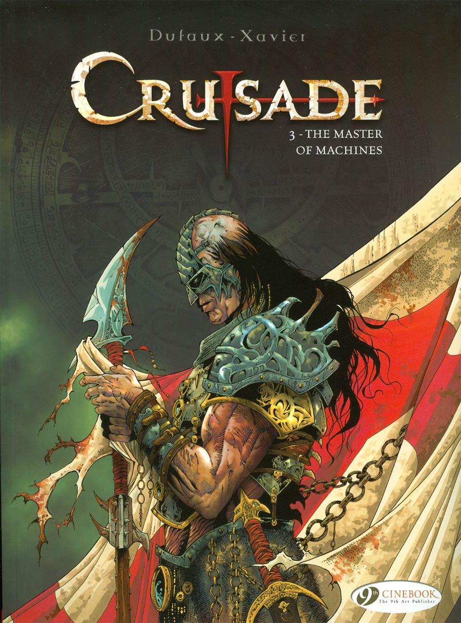Crusade Vol 3 Master Of Machines GN