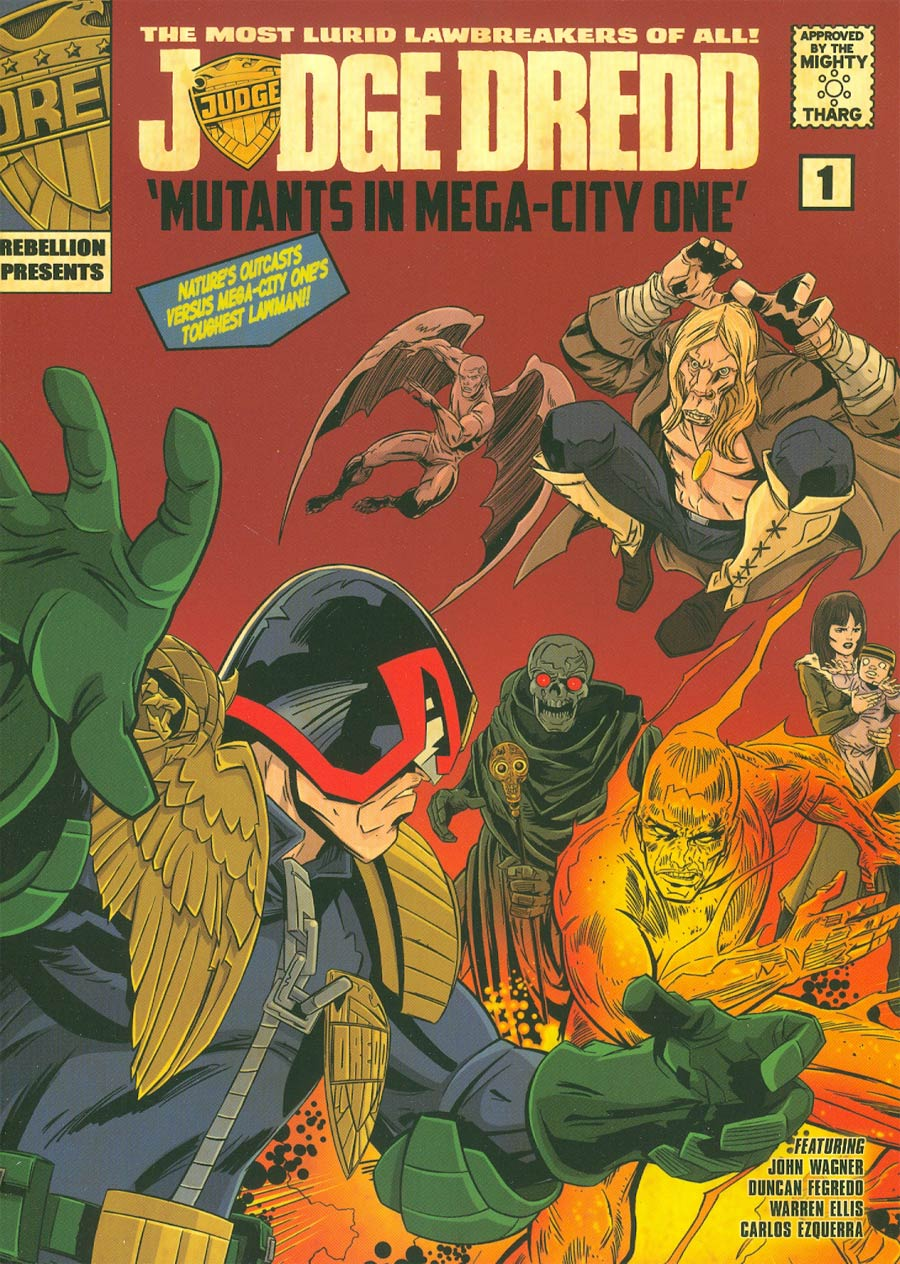 Judge Dredd Mutants In Mega-City One TP