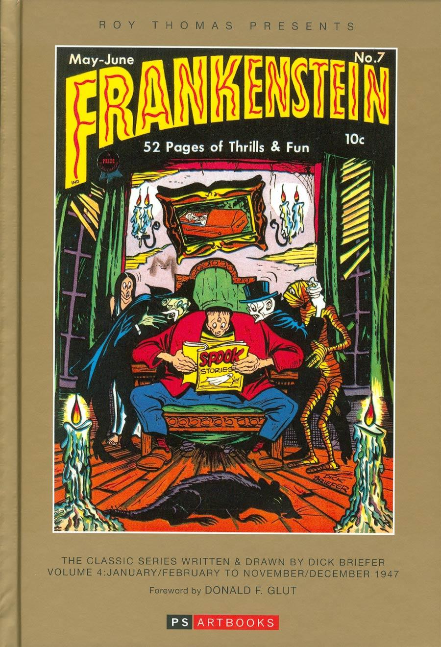 Roy Thomas Presents Dick Briefers Frankenstein Vol 4 1947 HC