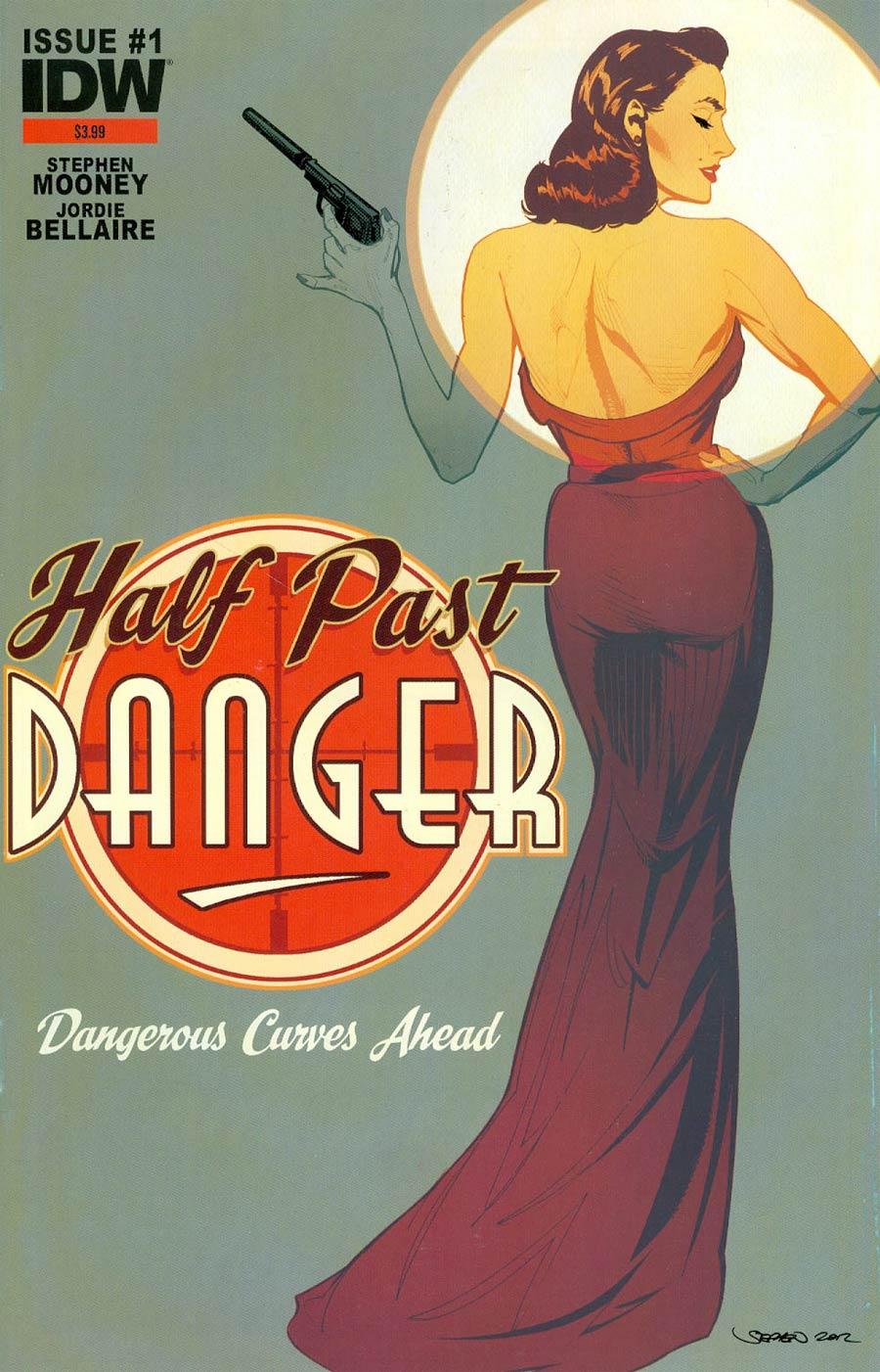 Half Past Danger #1 Cover D 3rd Ptg